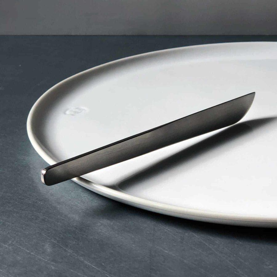 Smørekniv i mat stål
